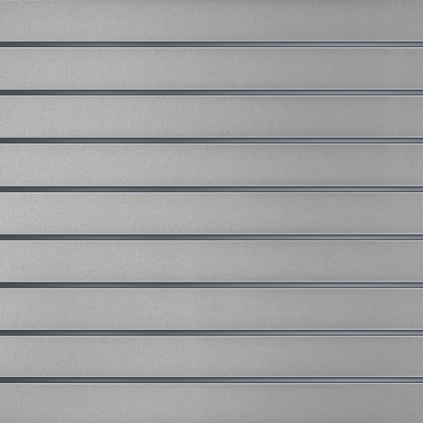 Lamellenwände Grau 10cm