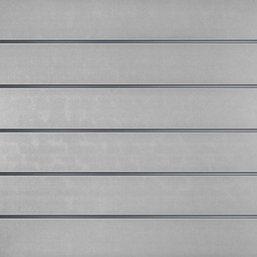 Lamellenwände Grau 15cm