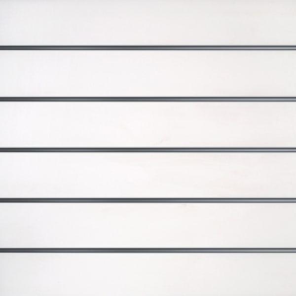 Lamellenwände Weiß 15cm