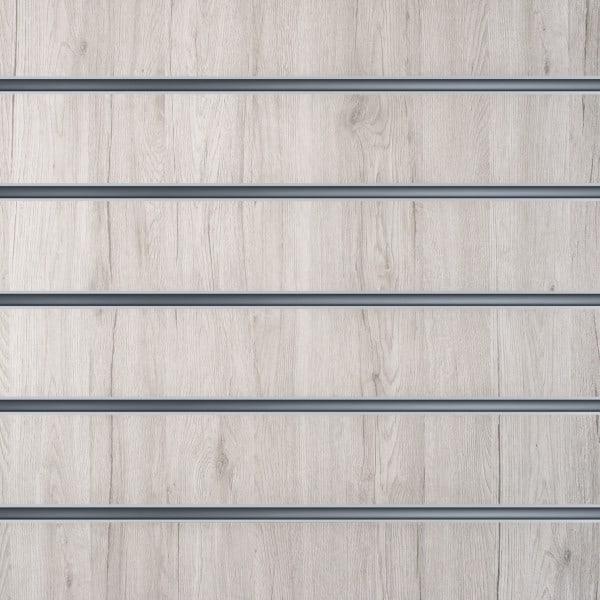 Lamellenwände Weiß Eschenholz 15cm