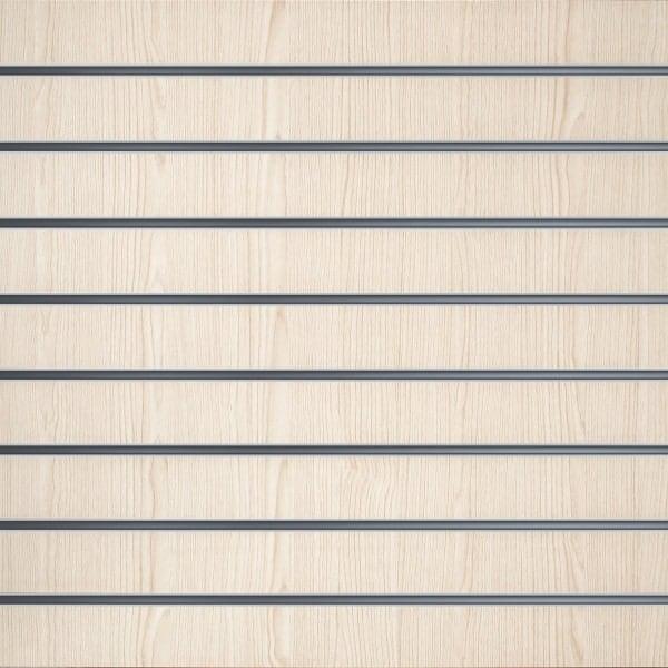 Lamellenwände Weiß Eschenholz 10cm