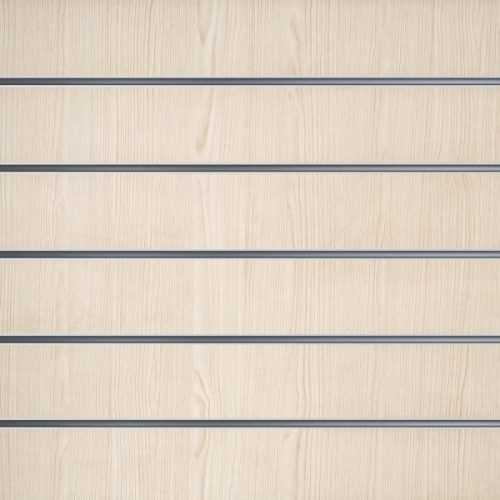Lamellenwände Weiß Eiche 15cm