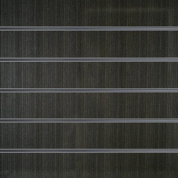 Lamellenwände Anthrazit Holzmaserung 15 cm