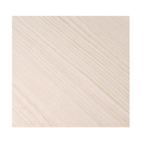 Laminierte MDF Platte 120x120cm Weiß Asche