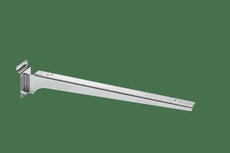 Lamellenwande Regale Chrom 35cm